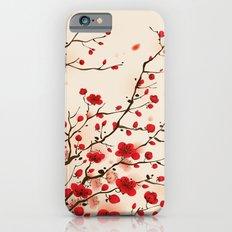Oriental plum blossom in spring iPhone 6 Slim Case