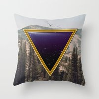 Space Frame Throw Pillow