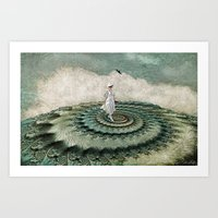 I'm On Top Of The World Art Print
