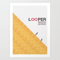 Looper - Minimal Poster Art Print
