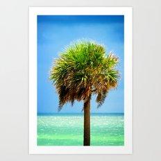 Stately Palm Art Print