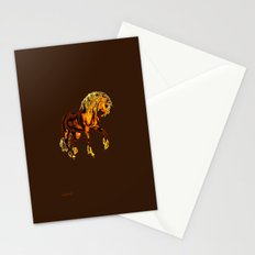HORSE - Golden Palomino Stationery Cards