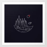 Visit Utopia Art Print