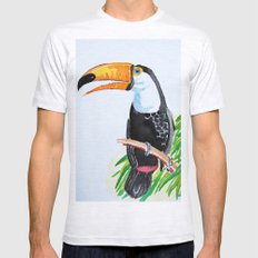 Toucan Mens Fitted Tee Ash Grey SMALL