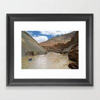 Rafting On The Zanskar R… Framed Art Print