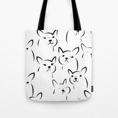 Mate,Friends,French bulldog Tote Bag