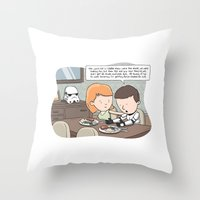Force-Choked Throw Pillow