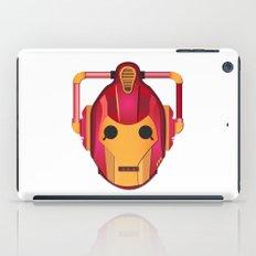 cyber iron man iPad Case