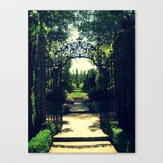 Filoli Path 1 Canvas Print
