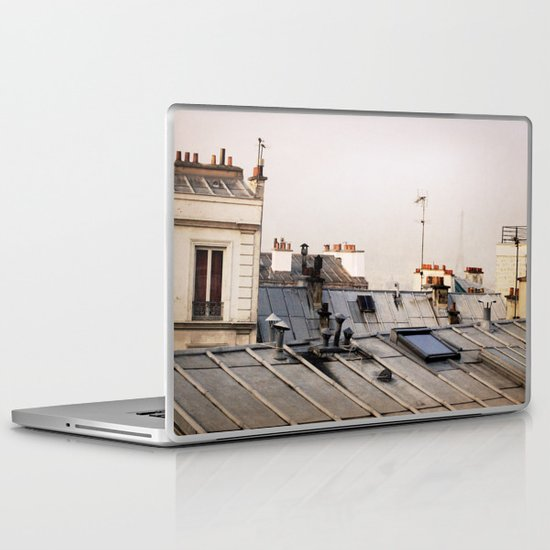 Paris Rooftop #1 Laptop & iPad Skin