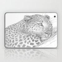 Leopard In A Tree Laptop & iPad Skin