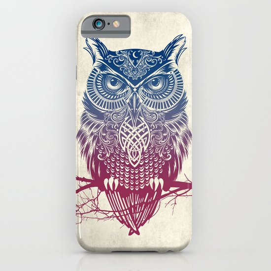 Evening Warrior Owl iPhone & iPod Case