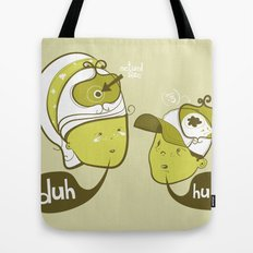 Pea Brain Patty and Bird Brain Bimmy Tote Bag