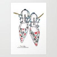 A Love Affair With Manol… Art Print