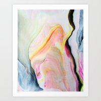 Marbled One Art Print