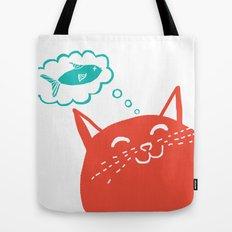 Me Want Fish Tote Bag