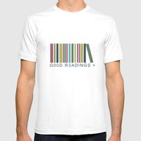 Good Readings Are Pricel… Mens Fitted Tee White SMALL
