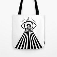 Laser Eye Tote Bag