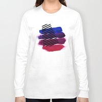 Magenta Broadcast Long Sleeve T-shirt