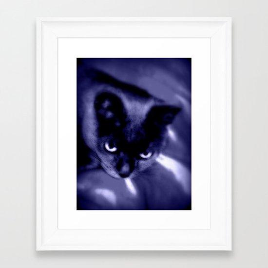 My Adorable Cat Framed Art Print