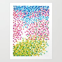 Hollywood Funfetti Sunse… Art Print