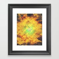 Its In The Clouds Framed Art Print