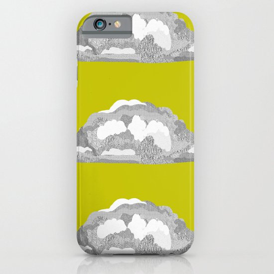 Cloud on Goldenrod iPhone & iPod Case