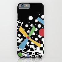 Ticker Tape Geometric iPhone 6 Slim Case