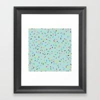 Sprinkle It! Framed Art Print