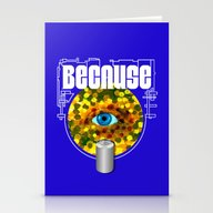 Because Eye Can Stationery Cards