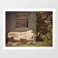 The Window Seat Art Print