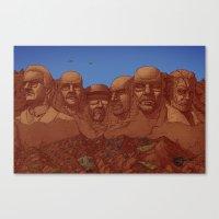 Mount Heisenberg Canvas Print