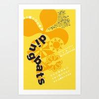 Dingbats Art Print