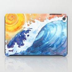 Ocean Wave iPad Case