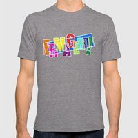 Ermagerd! Mens Fitted Tee Tri-Grey SMALL