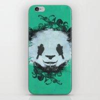 Pretty Panda iPhone & iPod Skin