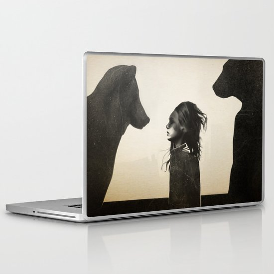 Unusual Encounter Laptop & iPad Skin