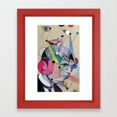 STARMAN .. Homage Framed Art Print
