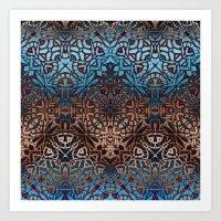 Ethnic Tribal Pattern G3… Art Print