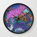 Mountain Cats Wall Clock