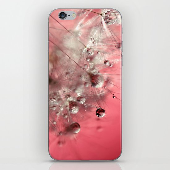 New Year's Pink Champagne iPhone & iPod Skin