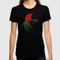 Cthulhu - The Animated S… Womens Fitted Tee Black SMALL