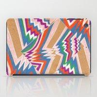 Wonky Chevron iPad Case