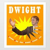 Dwight Schrute     The Office Art Print