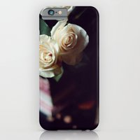iPhone & iPod Case featuring i'd rather have roses by Mary Carroll
