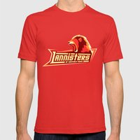 Lannisters Of Casterly R… Mens Fitted Tee Red SMALL