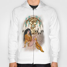 Pirate Pin Up Hoody