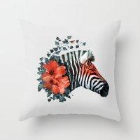 Untamed Throw Pillow