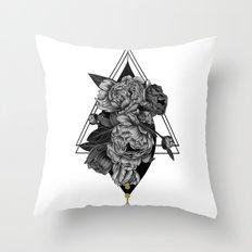 Occult II Throw Pillow