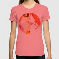 Jet Sex Radio Womens Fitted Tee Pomegranate SMALL